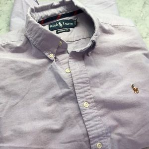 Ralph Lauren purple button down Men's Large